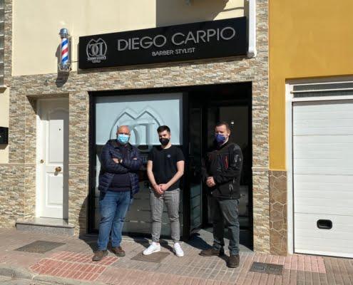 Barber Stylist Diego Carpio